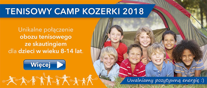 Tenisowy Camp Lato 2018