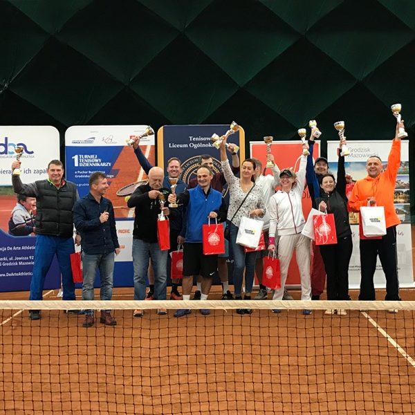 I Turniej Tenisowy Dziennikarzy<br/>2019.12.14