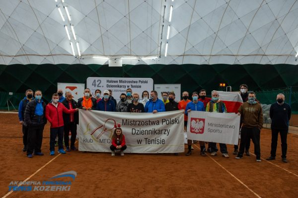 42. Halowe Mistrzostwa Polski Dziennikarzy <br/>w Tenisie – 2020.12.05